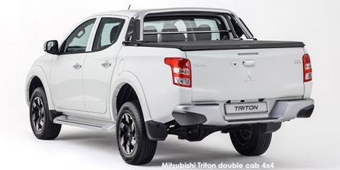 Mitsubishi Triton 2.4DI-D double cab 4x4 auto - Image credit: © 2019 duoporta. Generic Image shown.