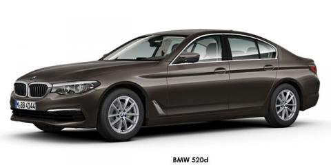 BMW 520d - Image credit: © 2018 duoporta. Generic Image shown.