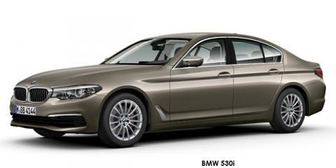 BMW 540i - Image credit: © 2018 duoporta. Generic Image shown.