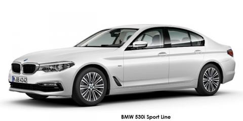 BMW 530d Sport Line - Image credit: © 2018 duoporta. Generic Image shown.