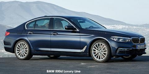 BMW 540i Luxury Line - Image credit: © 2019 duoporta. Generic Image shown.