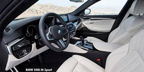 BMW 540i M Sport - Image credit: © 2018 duoporta. Generic Image shown.