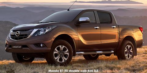 Mazda BT-50 2.2 double cab SLE auto - Image credit: © 2020 duoporta. Generic Image shown.
