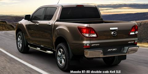 Mazda BT-50 3.2 double cab 4x4 SLE - Image credit: © 2018 duoporta. Generic Image shown.