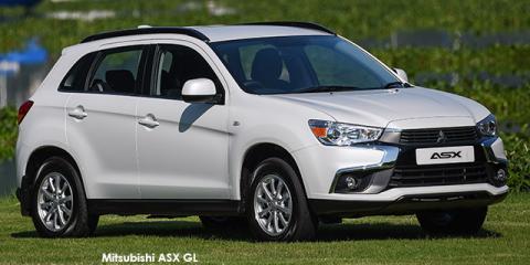 Mitsubishi ASX 2.0 GL auto - Image credit: © 2018 duoporta. Generic Image shown.