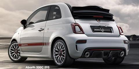 Abarth 500C 595 1.4T auto - Image credit: © 2019 duoporta. Generic Image shown.