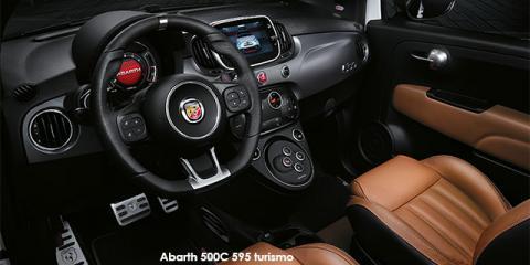 Abarth 500C 595 turismo 1.4T auto - Image credit: © 2019 duoporta. Generic Image shown.