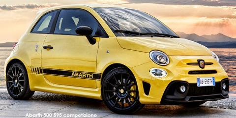 Abarth 500 595 competizione 1.4T - Image credit: © 2019 duoporta. Generic Image shown.