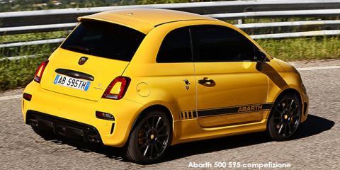 Abarth 500 595 competizione 1.4T auto - Image credit: © 2019 duoporta. Generic Image shown.