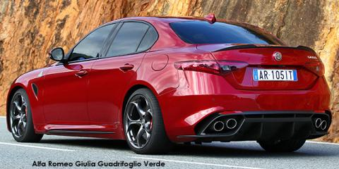 new alfa romeo giulia quadrifoglio verde up to r 76 000. Black Bedroom Furniture Sets. Home Design Ideas