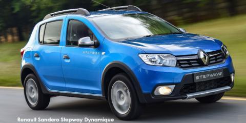 Renault Sandero 66kW turbo Stepway Expression - Image credit: © 2019 duoporta. Generic Image shown.