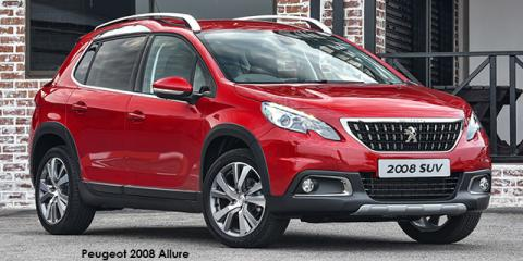 Peugeot 2008 1.2T Allure auto - Image credit: © 2018 duoporta. Generic Image shown.