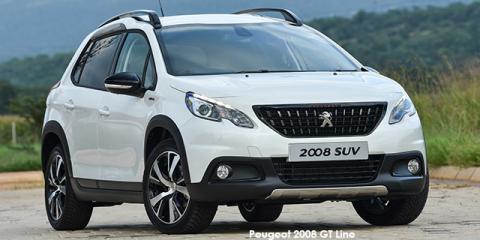 Peugeot 2008 1.2T GT Line auto - Image credit: © 2018 duoporta. Generic Image shown.