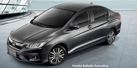Honda Ballade 1.5 Executive auto - Image credit: © 2020 duoporta. Generic Image shown.