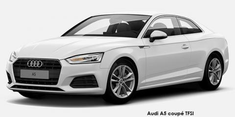 Audi A5 coupe 2.0TFSI - Image credit: © 2018 duoporta. Generic Image shown.