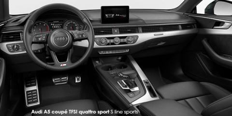 Audi A5 coupe 2.0TFSI sport S line sports - Image credit: © 2018 duoporta. Generic Image shown.