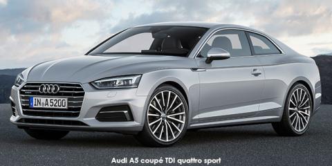Audi A5 coupe 2.0TDI quattro sport
