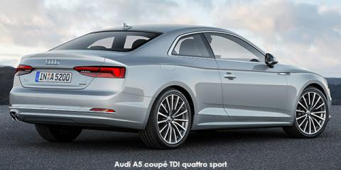 Audi A5 coupe 2.0TDI quattro sport - Image credit: © 2018 duoporta. Generic Image shown.