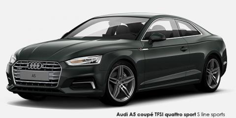 Audi A5 coupe 2.0TDI quattro sport S line sports