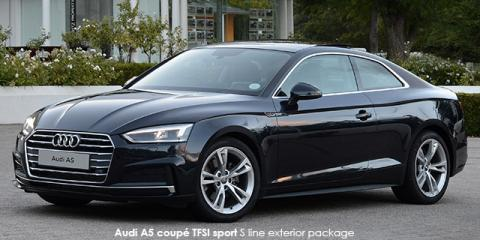 Audi A5 coupe 2.0TFSI quattro sport - Image credit: © 2018 duoporta. Generic Image shown.