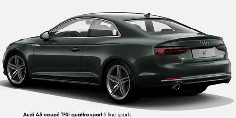 Audi A5 coupe 2.0TFSI quattro sport S line sports - Image credit: © 2018 duoporta. Generic Image shown.