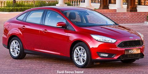 Ford Focus sedan 1.5TDCi Ambiente - Image credit: © 2019 duoporta. Generic Image shown.