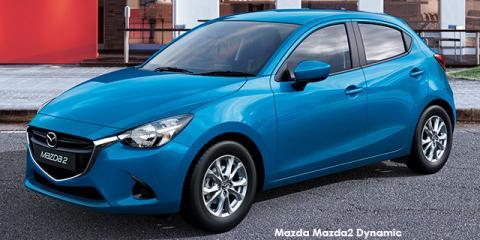 Mazda Mazda2 1.5 Dynamic auto - Image credit: © 2018 duoporta. Generic Image shown.