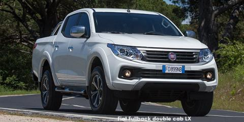 Fiat Fullback 2.4Di-D double cab 4x4 LX auto - Image credit: © 2020 duoporta. Generic Image shown.