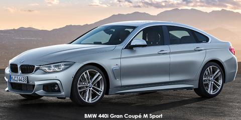 BMW 420i Gran Coupe Sport Line sports-auto - Image credit: © 2019 duoporta. Generic Image shown.