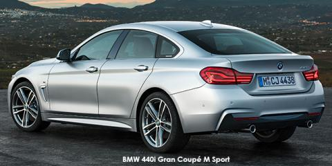 BMW 420i Gran Coupe Sport Line sports-auto - Image credit: © 2018 duoporta. Generic Image shown.
