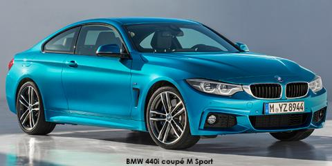 BMW 430i coupe auto - Image credit: © 2018 duoporta. Generic Image shown.