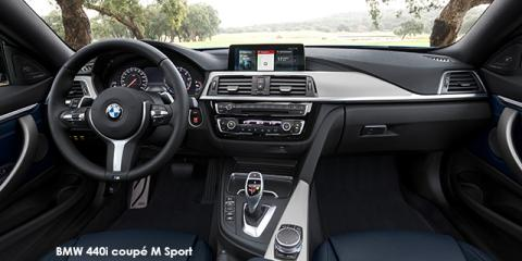 BMW 440i coupe - Image credit: © 2019 duoporta. Generic Image shown.