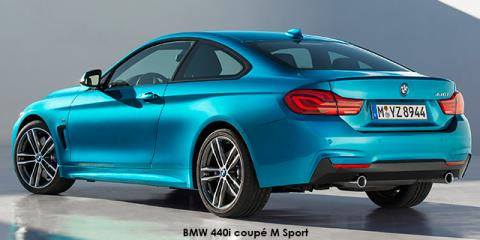 BMW 440i coupe Sport Line - Image credit: © 2019 duoporta. Generic Image shown.