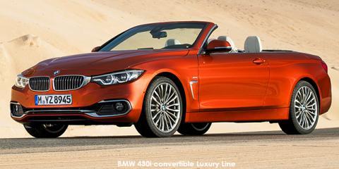 BMW 430i convertible Luxury Line auto