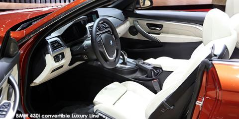 BMW 440i convertible - Image credit: © 2018 duoporta. Generic Image shown.