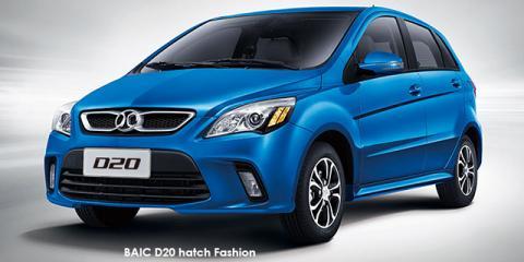 BAIC D20 hatch 1.5 Fashion auto - Image credit: © 2018 duoporta. Generic Image shown.