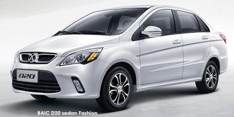 BAIC D20 sedan 1.5 Fashion auto - Image credit: © 2018 duoporta. Generic Image shown.