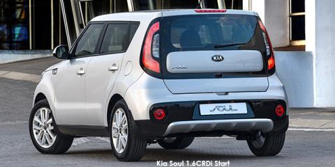 Kia Soul 1.6CRDi Smart auto - Image credit: © 2018 duoporta. Generic Image shown.
