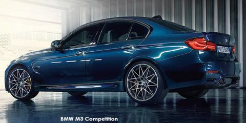 BMW M3 Competition - Image credit: © 2018 duoporta. Generic Image shown.