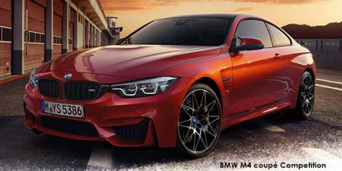 BMW M4 coupe - Image credit: © 2018 duoporta. Generic Image shown.
