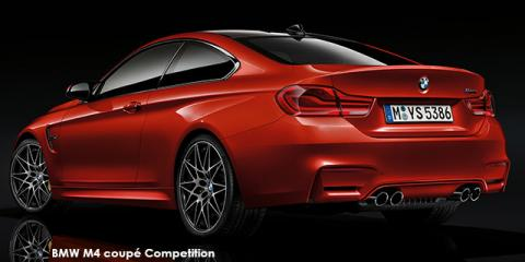 BMW M4 coupe Competition - Image credit: © 2018 duoporta. Generic Image shown.