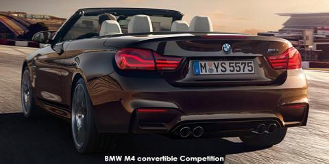 BMW M4 convertible - Image credit: © 2019 duoporta. Generic Image shown.