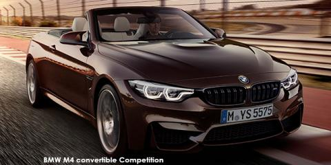 BMW M4 convertible Competition - Image credit: © 2020 duoporta. Generic Image shown.