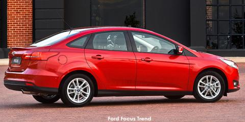 Ford Focus sedan 1.0T Trend auto - Image credit: © 2018 duoporta. Generic Image shown.