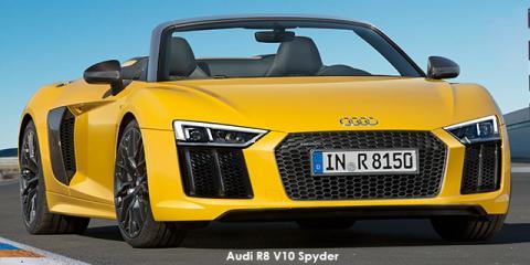 Audi R8 5.2 V10 Spyder quattro