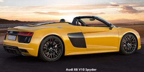Audi R8 5.2 V10 Spyder quattro - Image credit: © 2018 duoporta. Generic Image shown.