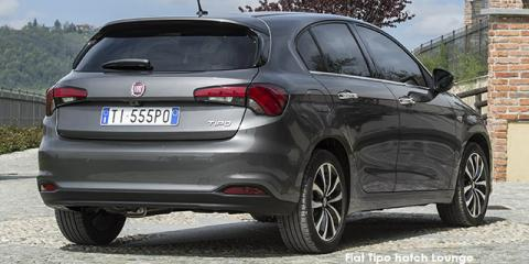 Fiat Tipo hatch 1.4 Lounge - Image credit: © 2019 duoporta. Generic Image shown.