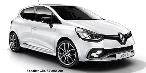 Renault Clio RS 200 Lux - Image credit: © 2018 duoporta. Generic Image shown.