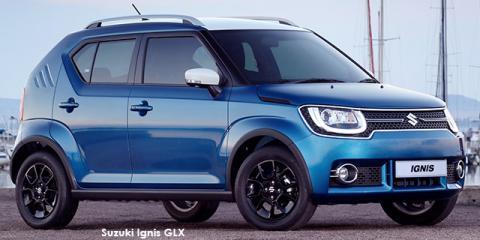 Suzuki Ignis 1.2 GLX auto - Image credit: © 2018 duoporta. Generic Image shown.