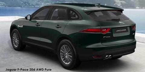 Jaguar F-Pace 20d AWD Pure - Image credit: © 2018 duoporta. Generic Image shown.
